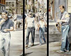 Streetwalker Triptych