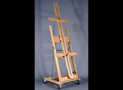 Oak Convertable Easel