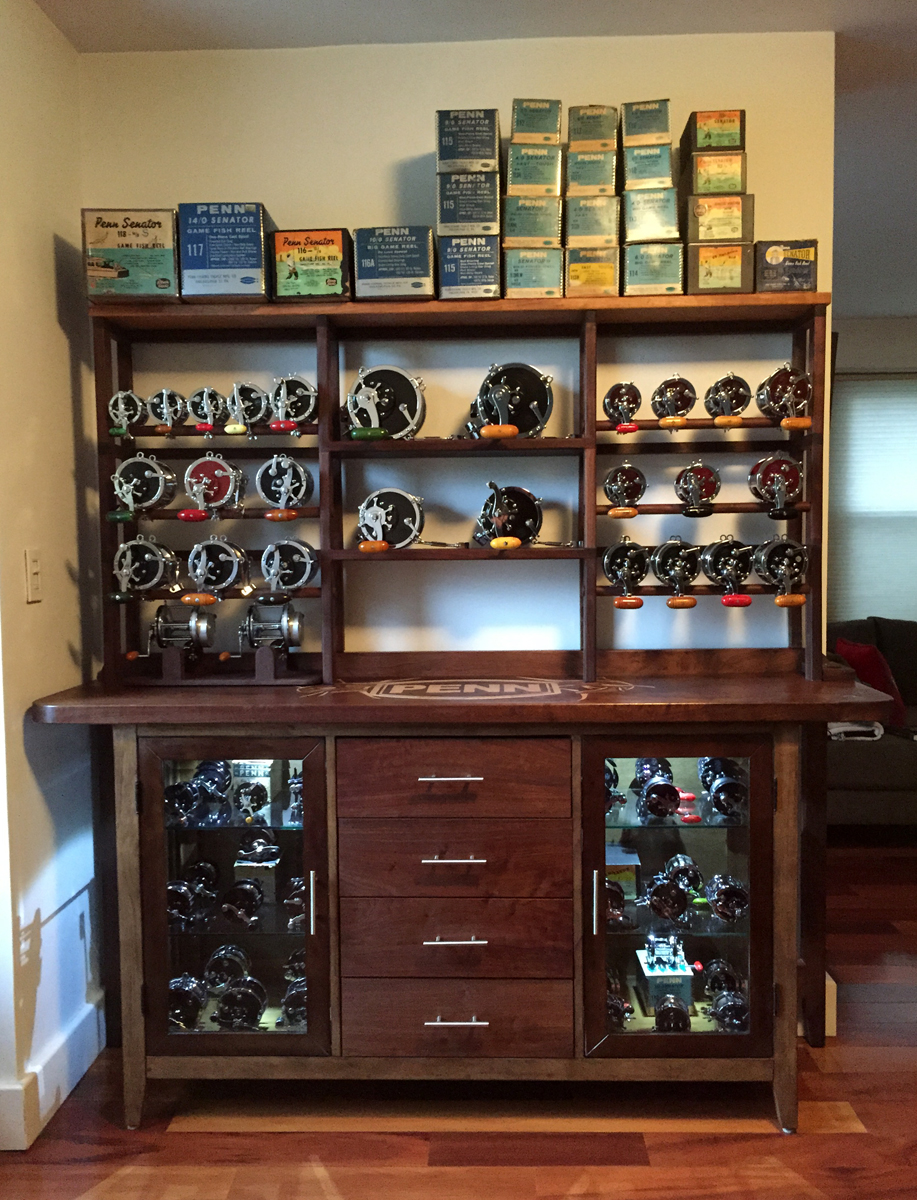 Penn Reel Display