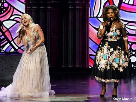 Carrie Underwood and CeCe Winans Takes the ACM Awards to Church