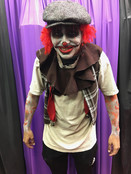 Chuckles The Clown & His Pumpkin Friends