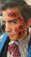 Burn Make-Up - Knott's Scary Farm - Octo