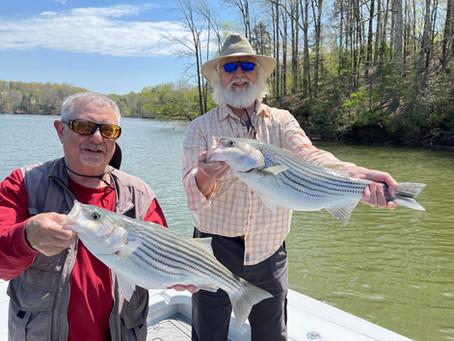 May 8, 2021 Lake Lanier Fishing Report
