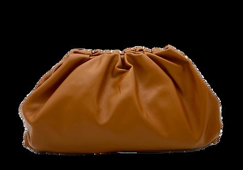 Camel Leather Bag - Big Size