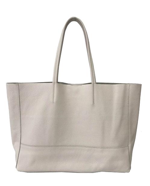 Shopper Beige Leather Bag