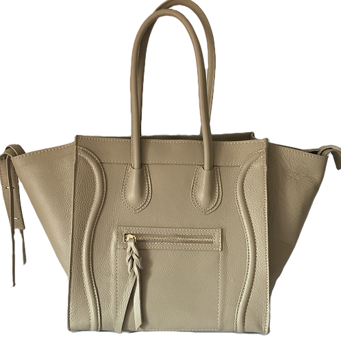 Céline Phantom inspiration handbag in beige