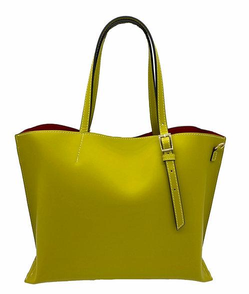 Passion Lemon Leather Bag