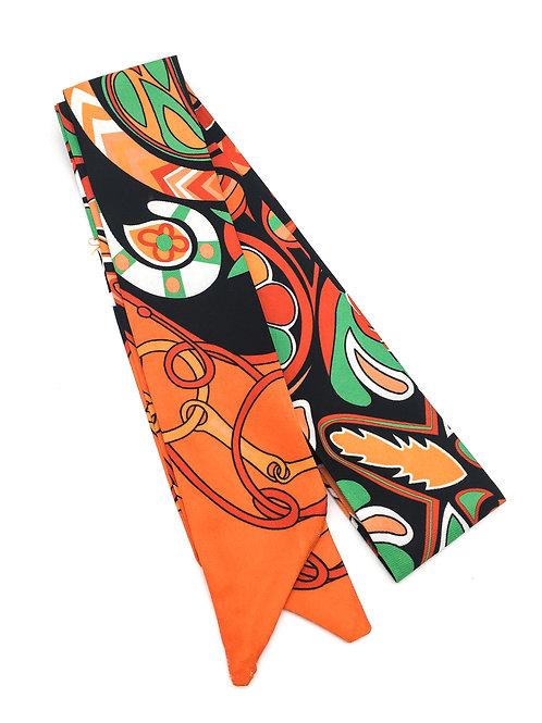 Lenço de seda para malas