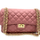 Thumbnail: Classy Pink Leather Bag - Small Size