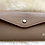 Thumbnail: Leather Wallet and card holder- Taupe