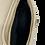 Thumbnail: Assymetric Beige Leather Bag - Medium Size