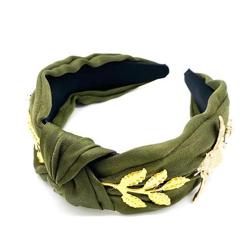 Green Wild Bug Headband