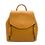 Thumbnail: Camel Leather Backpack