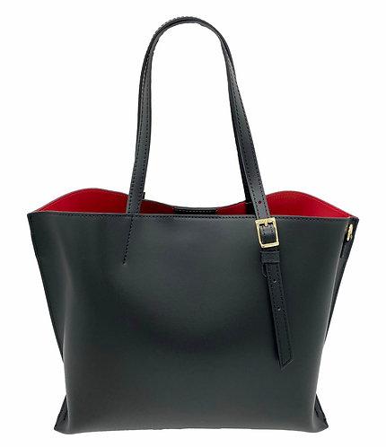 Passion Black Leather Bag
