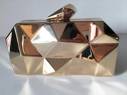 Gold Design Clutch