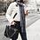 Alexandra Borges wearing chanel inspiration black handbag