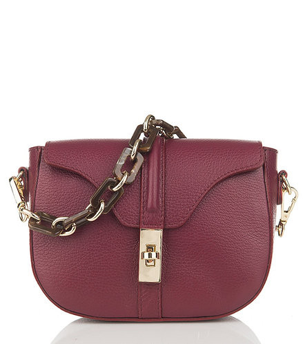 celine besace inspiration bordeaux leather crossbody bag