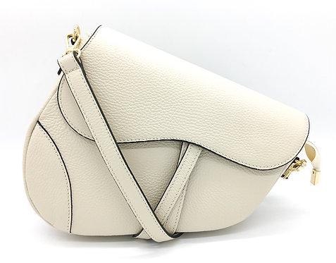 leather dior assymetric bag