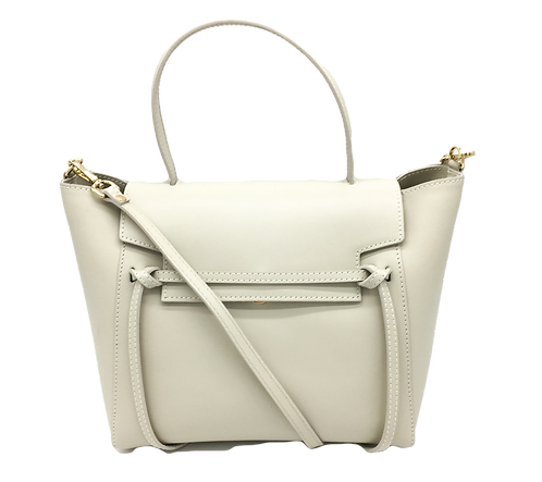 Betty Beige Leather Bag