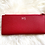 Thumbnail: Saffiano Leather Card Holder - Red