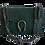 Dinonysus inspired bag in green