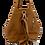 Back of Camel Multiway backpack and shopper leather bag