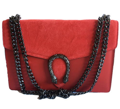 Dionysus Inspired bag in red