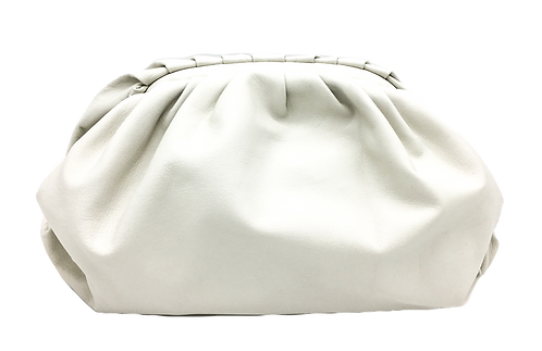 Pouch Bag in genuine leather front