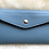 Thumbnail: Leather Wallet and card holder- Sky Blue