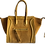 Thumbnail: Mostard Leather Shopper Bag