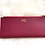Thumbnail: Saffiano Leather Card Holder - Bordeaux