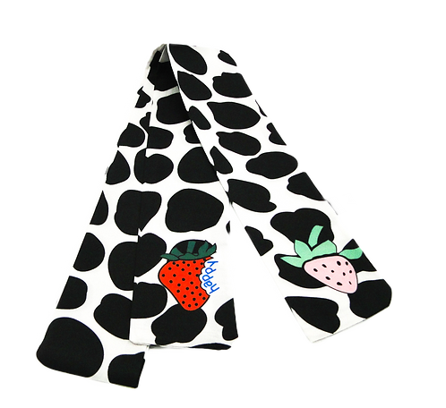 Cow and Fruits Scarf