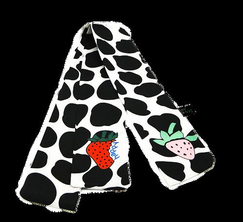 Lenço de Vaca e Frutas