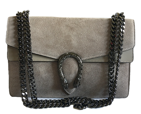 Dionysus inspired bag in taupe