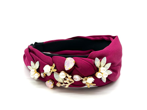 Braid Magenta Headband