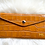 Thumbnail: Leather Wallet and card holder- Croco Camel