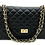 Thumbnail: Classy XL Leather Bag - Gold Hardware