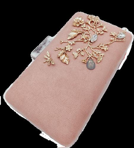 Old Pink Clutch Bag