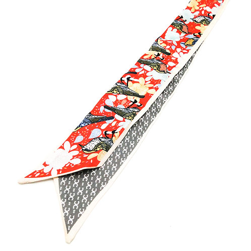 Oriental Red Scarf