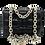 Front of Bottega Inspiration Bag with metal strap