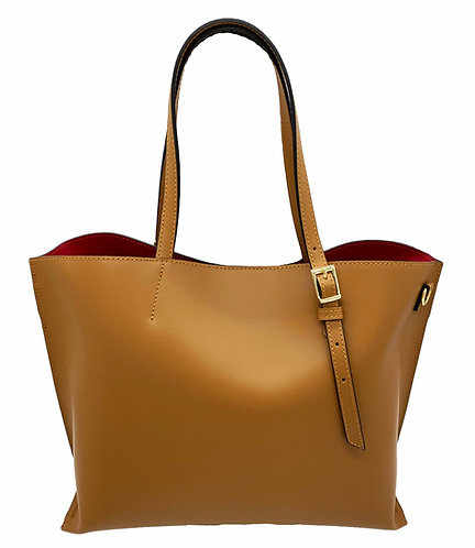 Passion Camel Leather Bag