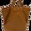 Shopper Camel Multiway backpack and shopper leather bag