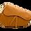 Thumbnail: Assymetric Camel Leather Bag - Medium Size