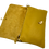 Thumbnail: Embreagem de couro genuíno amarelo