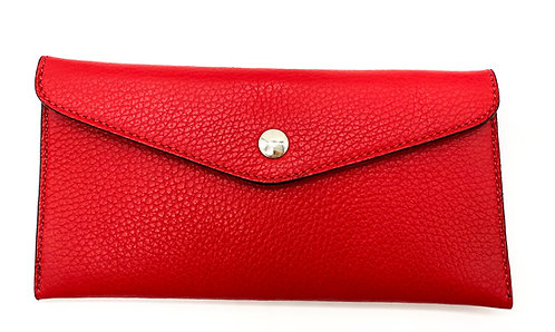 Wallet and card holder-Red