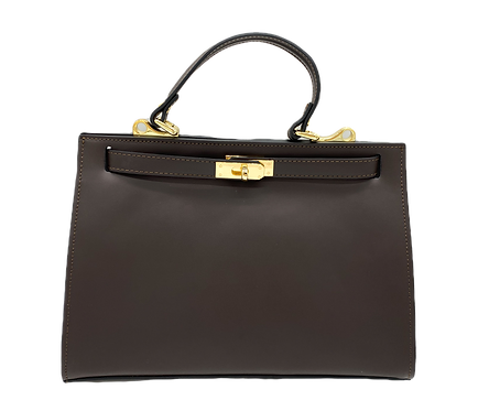 Kelly inspiration bag in brown color