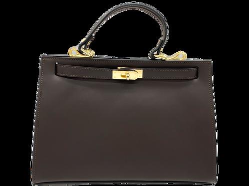 Brown Trendy Bag - Leather Handbag