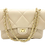 Beige classic leather bag