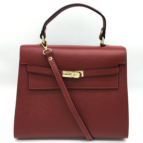 kelly inspiration bordeaux handbag