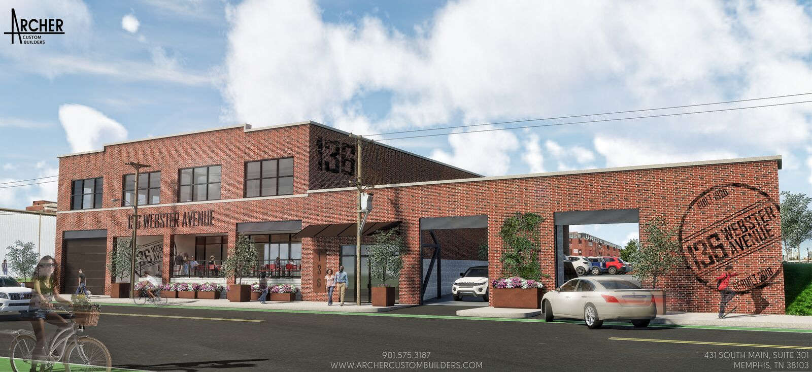 136 Webster Avenue Rendering